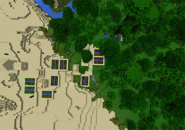 Something about Epic Survival Island in MCPE Seeds game